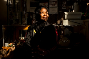 Jowanne Carrigan grew up in Meridian, Miss., ultimately finding herself in Flint where she became a homicide detective, and now owns of a clothing store, Classy Raggz, in downtown.