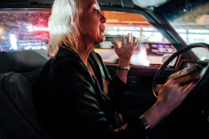 One of the Girls - After leaving a sadomasicism dance club, Rachel drives back to her apartment in San Francisco, where she doesn't want to go. Rachel is still married to her straight wife, Linda, of 35 years. Sleeping in different bedrooms and often arguing about the amount of money that Rachel spent on her surgeries, they have made life very difficult for one another.