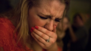 At party Hannah has a coughing fit. Hannah says she realizes how her self abuses from drinking and bulimia, affects her body physically and she struggles maintain her physical health.